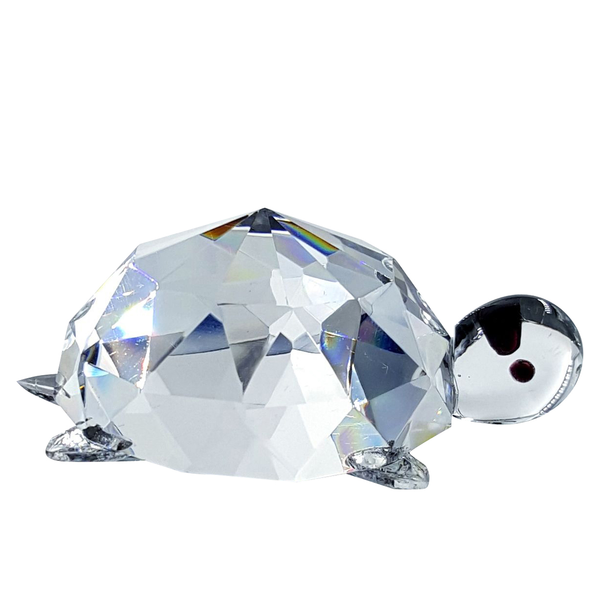 Crystal Turtle Figurine By Crystal Florida