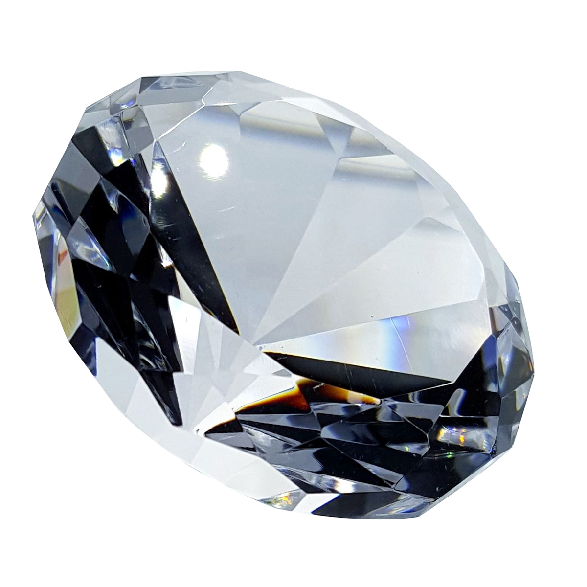 Crystal Diamond Paperweight By Crystal Florida