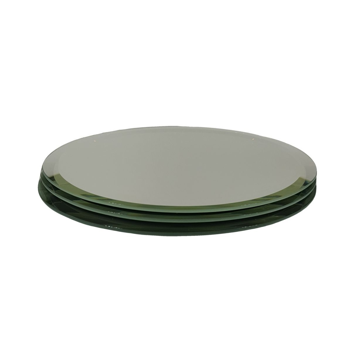 Oval Mirrors Collectibles or Decorative Purpose, 3MM Bevel