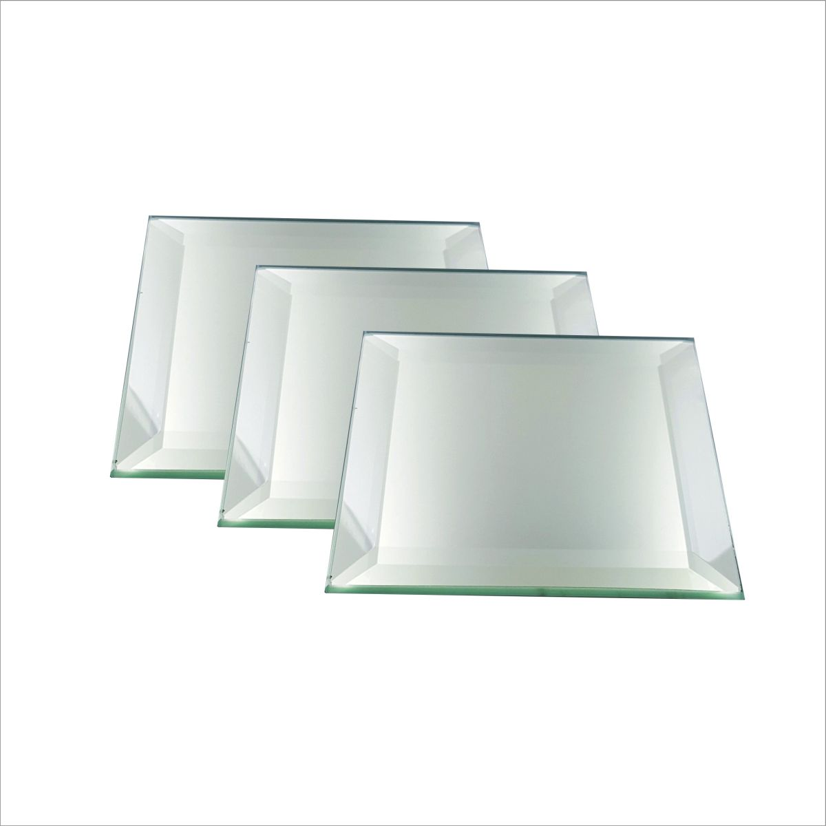 5MM Beveled Heavy and Square Decorative Display Mirrors with Fee