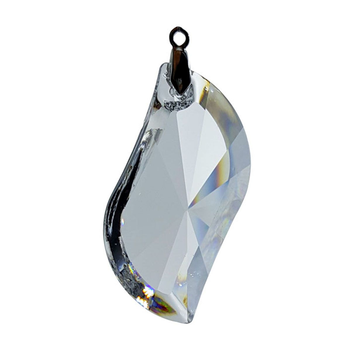 Crystal Fancy S Feng Shui Window Prism 89mm / 3.5 Inches