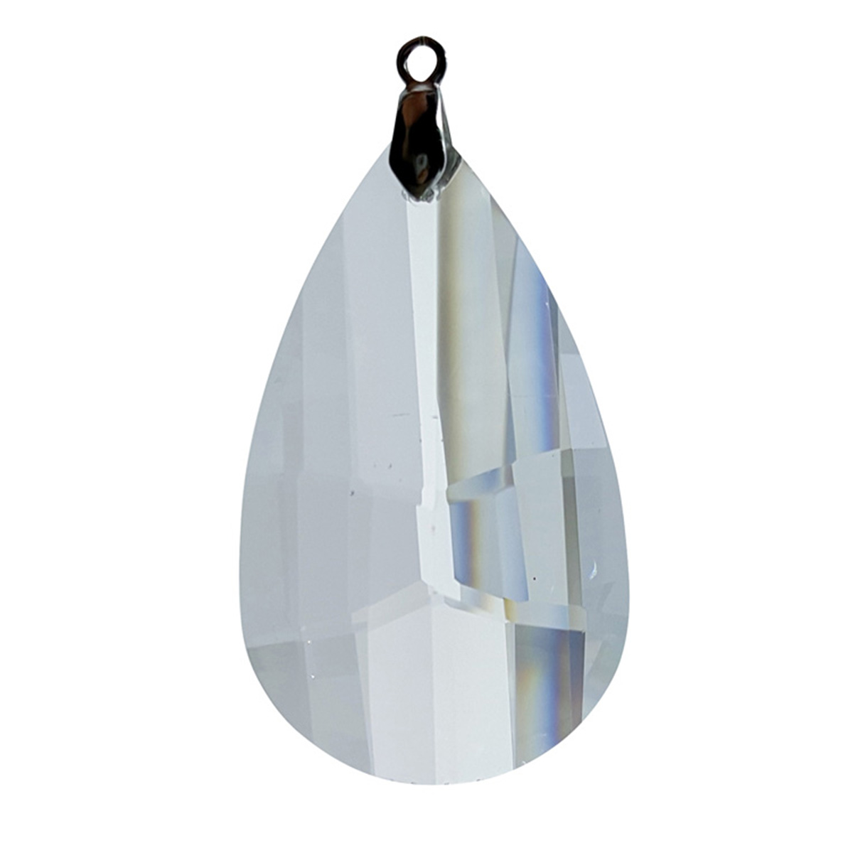 Crystal Mosaic Pear Feng Shui Window Prism 50mm / 2 Inches