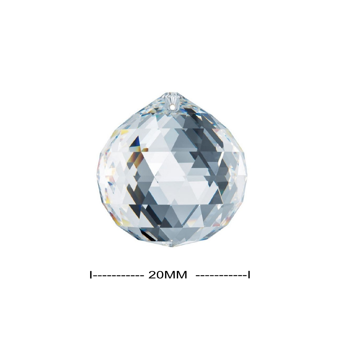 Swarovski 20mm Infamous Strass Clear Crystal Ball Prism 8558-20