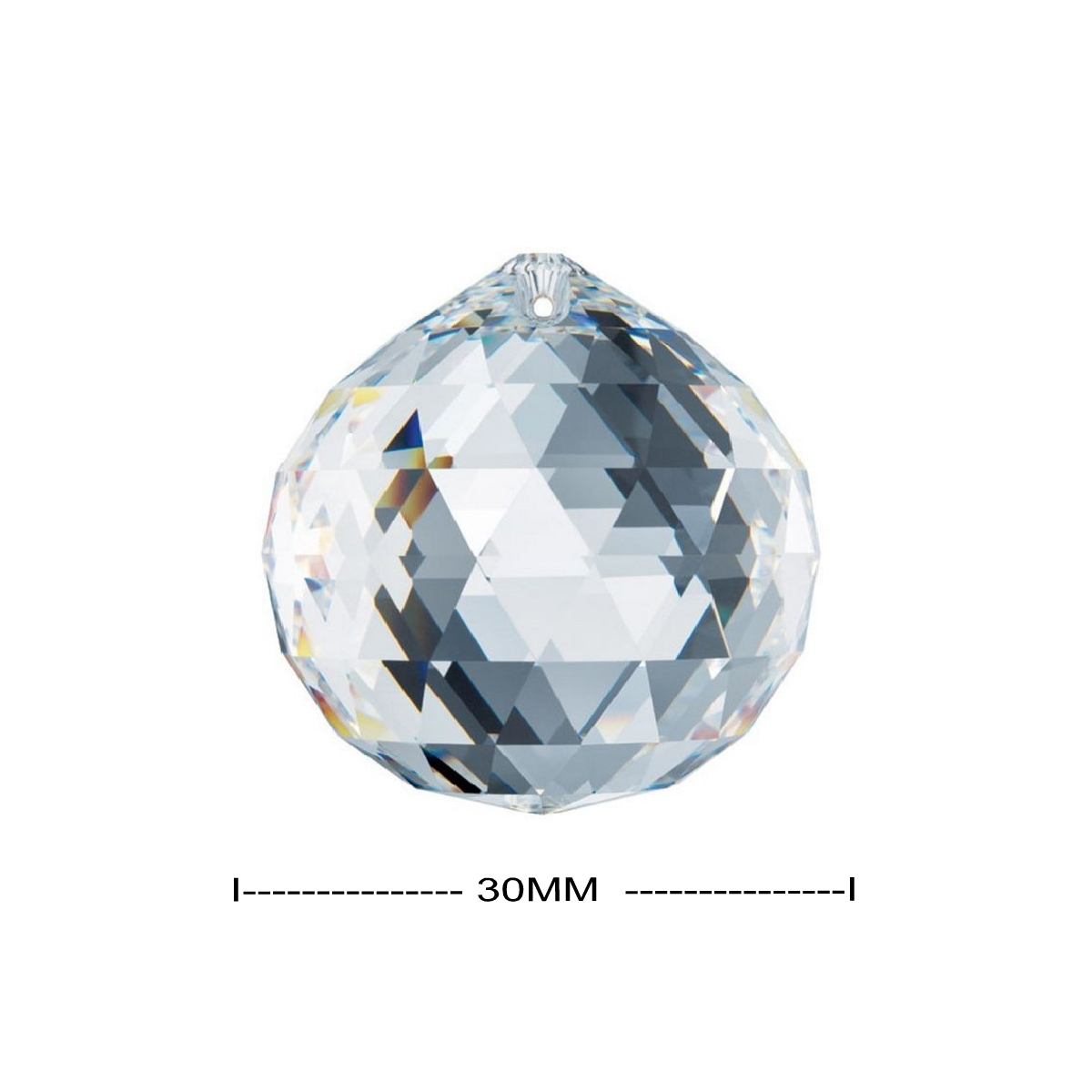 Swarovski 30mm Infamous Strass Clear Crystal Ball Prism 8558-30