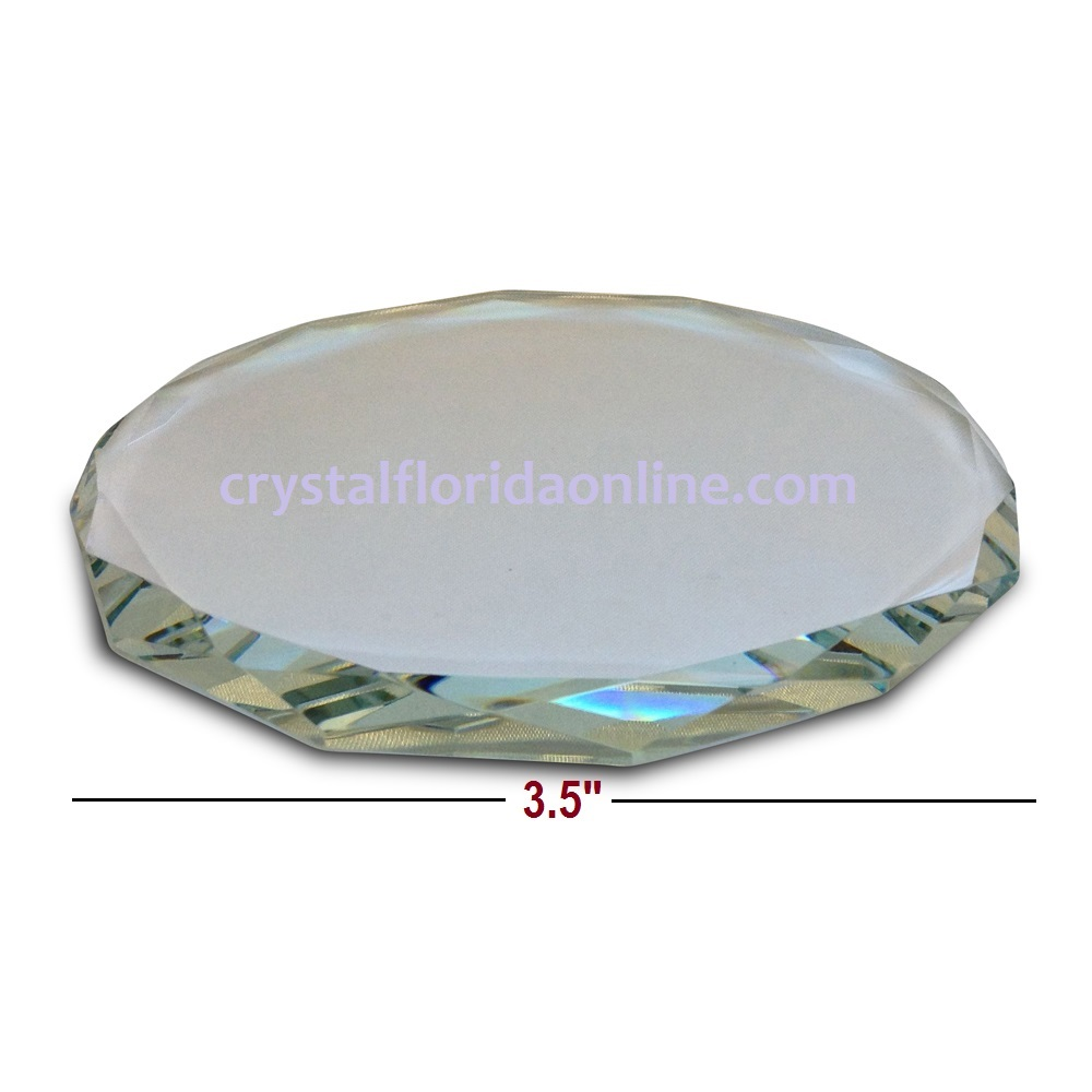 "Crystal Riser for Your Figurines - 3.5"" x 0.33"""