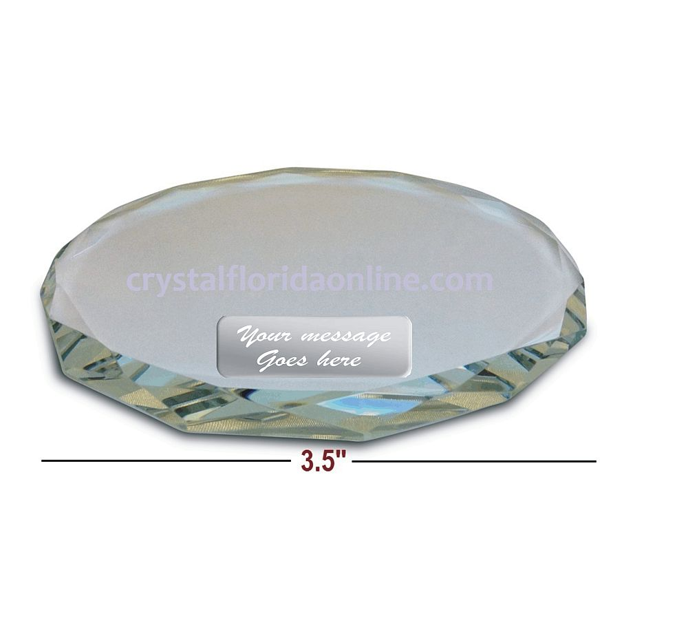 Crystal Riser For Your Figurines 3 5 X 0 33 European Crystal Figurines Buy Crystal