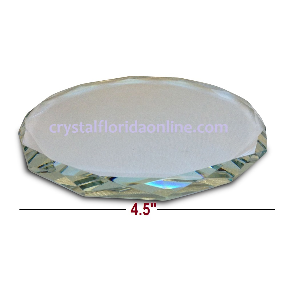 "Crystal Riser for Your Figurines - 4.5"" x 0.33"""