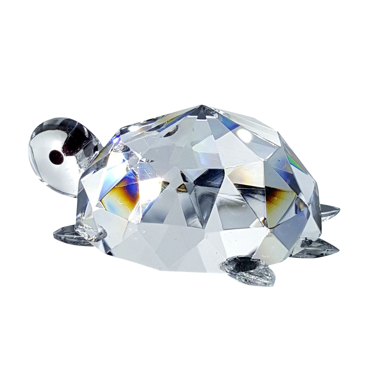 Crystal Turtle Figurine
