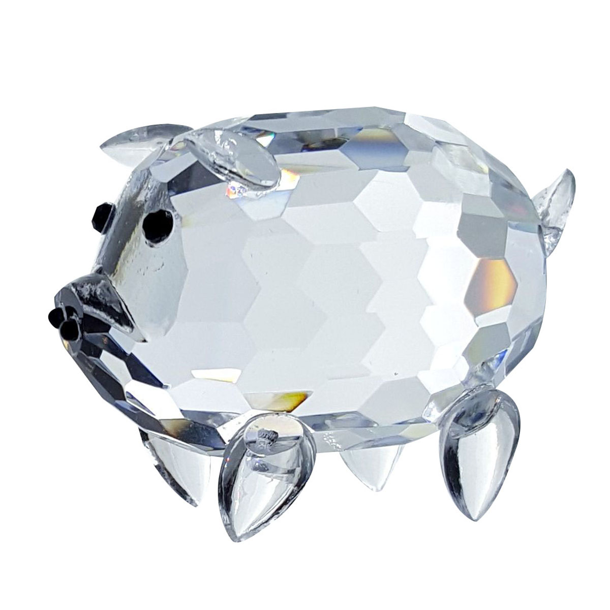 Crystal Fatty Pig Figurine