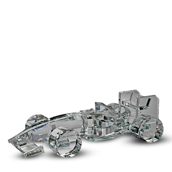 Wholesale Crystal Formula One Race Car Figurine